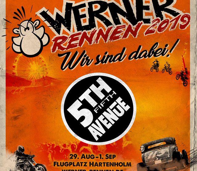 5th Avenue beim Werner Rennen 2019